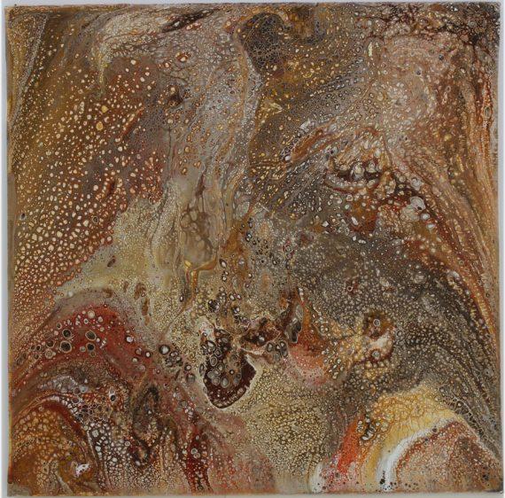 Acrylic Canvas Pour | Moab